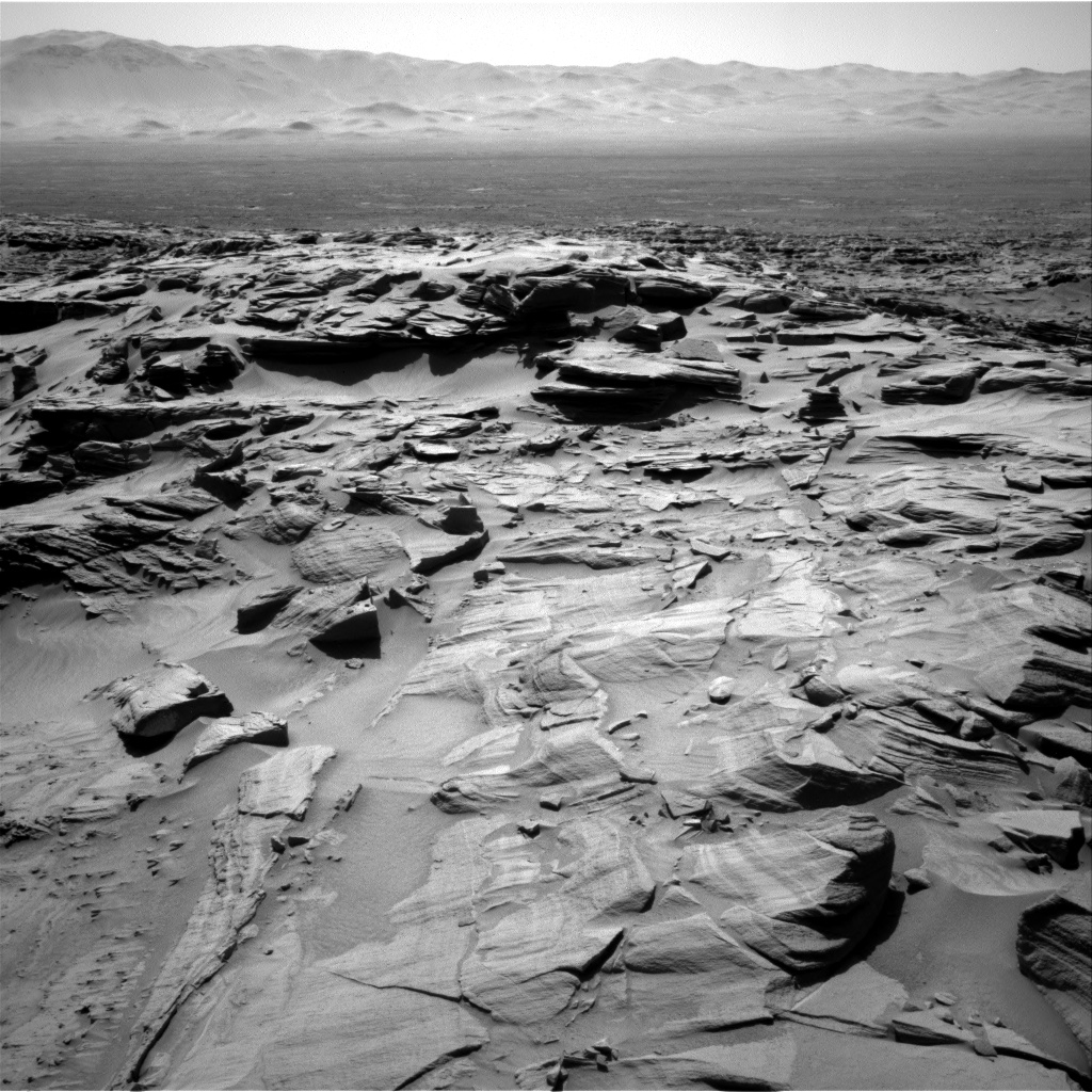 Nasa's Mars rover Curiosity acquired this image using its Right Navigation Camera on Sol 1292, at drive 2406, site number 53