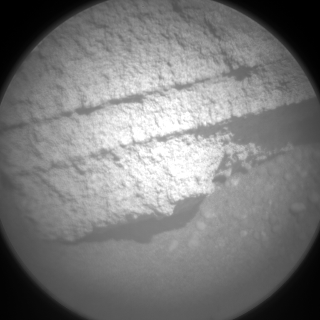 Nasa's Mars rover Curiosity acquired this image using its Chemistry & Camera (ChemCam) on Sol 1293, at drive 2406, site number 53