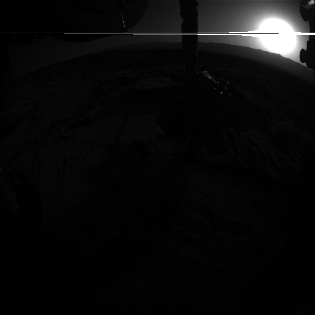Nasa's Mars rover Curiosity acquired this image using its Front Hazard Avoidance Camera (Front Hazcam) on Sol 1293, at drive 2406, site number 53