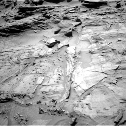 Nasa's Mars rover Curiosity acquired this image using its Left Navigation Camera on Sol 1294, at drive 2412, site number 53