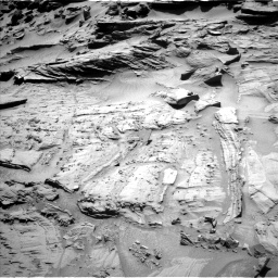 Nasa's Mars rover Curiosity acquired this image using its Left Navigation Camera on Sol 1294, at drive 2418, site number 53