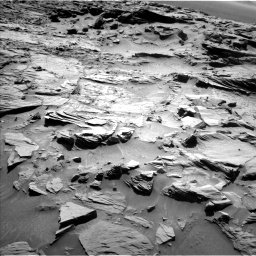 Nasa's Mars rover Curiosity acquired this image using its Left Navigation Camera on Sol 1294, at drive 2472, site number 53