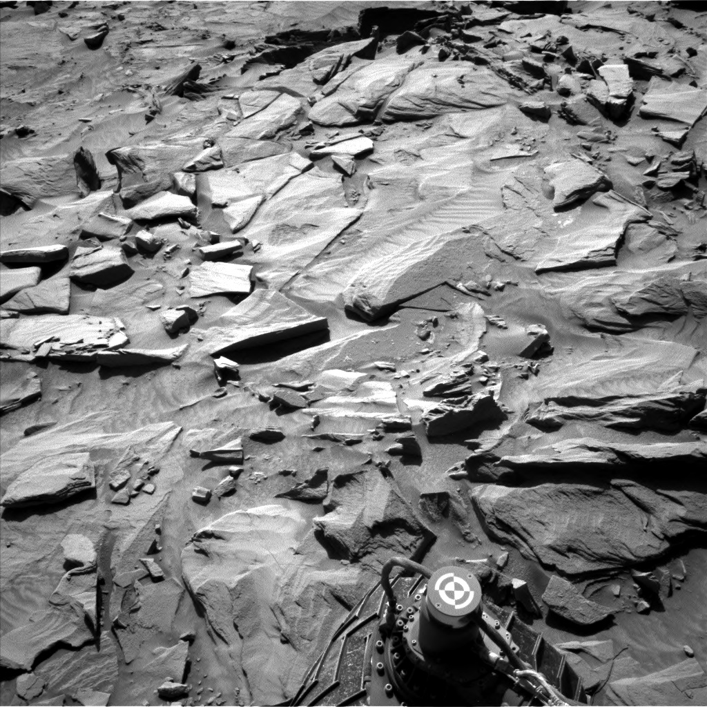Nasa's Mars rover Curiosity acquired this image using its Left Navigation Camera on Sol 1294, at drive 2578, site number 53