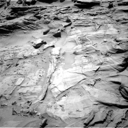 Nasa's Mars rover Curiosity acquired this image using its Right Navigation Camera on Sol 1294, at drive 2412, site number 53