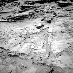 Nasa's Mars rover Curiosity acquired this image using its Right Navigation Camera on Sol 1294, at drive 2418, site number 53