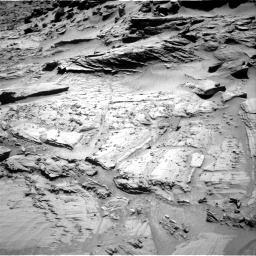 Nasa's Mars rover Curiosity acquired this image using its Right Navigation Camera on Sol 1294, at drive 2424, site number 53