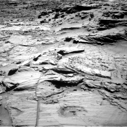 Nasa's Mars rover Curiosity acquired this image using its Right Navigation Camera on Sol 1294, at drive 2442, site number 53