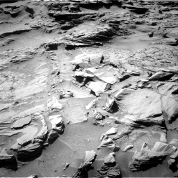Nasa's Mars rover Curiosity acquired this image using its Right Navigation Camera on Sol 1294, at drive 2502, site number 53