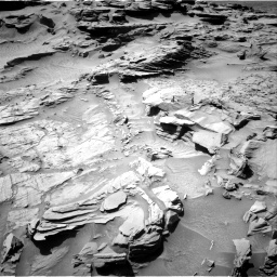 Nasa's Mars rover Curiosity acquired this image using its Right Navigation Camera on Sol 1294, at drive 2508, site number 53