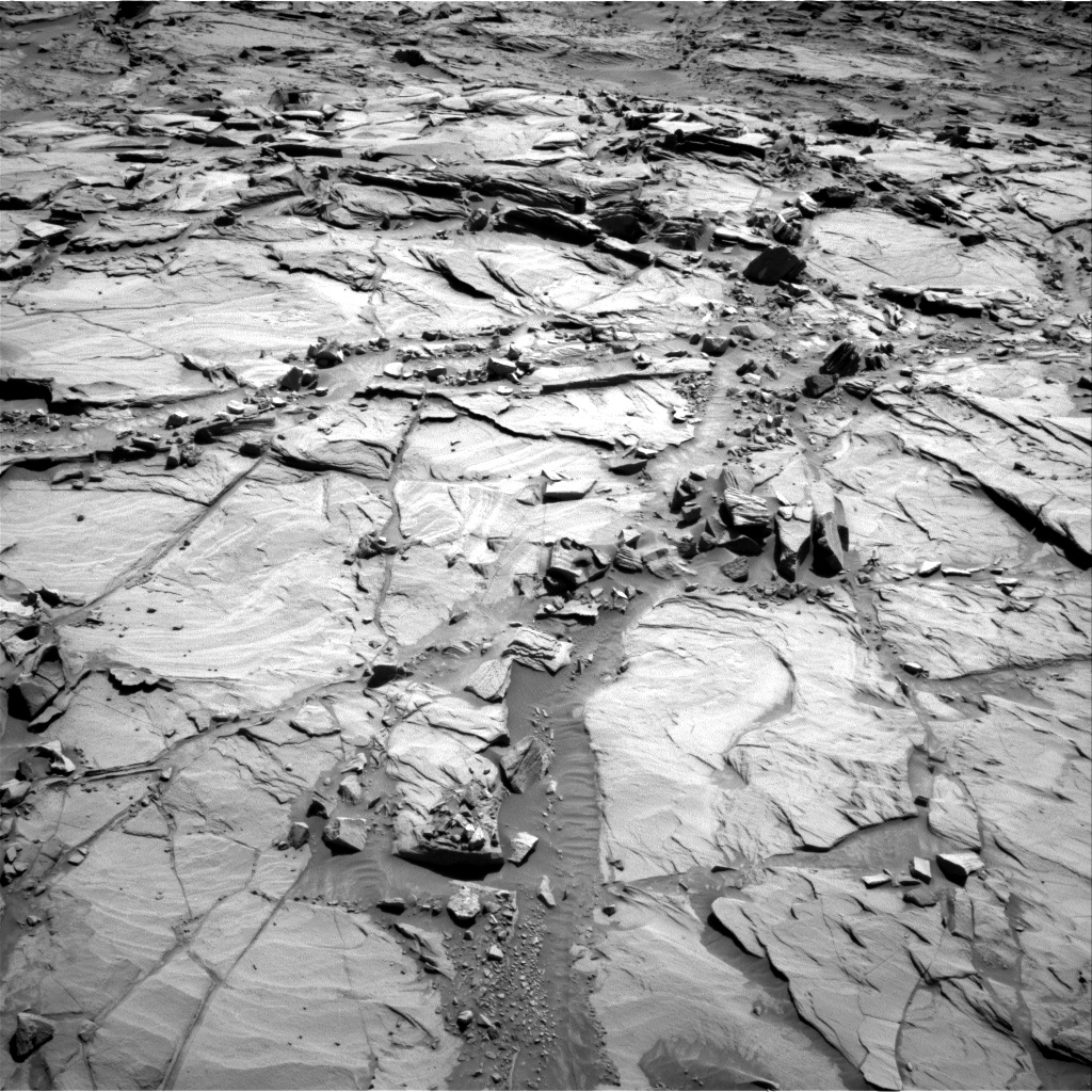 Nasa's Mars rover Curiosity acquired this image using its Right Navigation Camera on Sol 1294, at drive 2532, site number 53