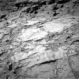 Nasa's Mars rover Curiosity acquired this image using its Right Navigation Camera on Sol 1294, at drive 2556, site number 53