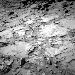 Nasa's Mars rover Curiosity acquired this image using its Right Navigation Camera on Sol 1294, at drive 2562, site number 53