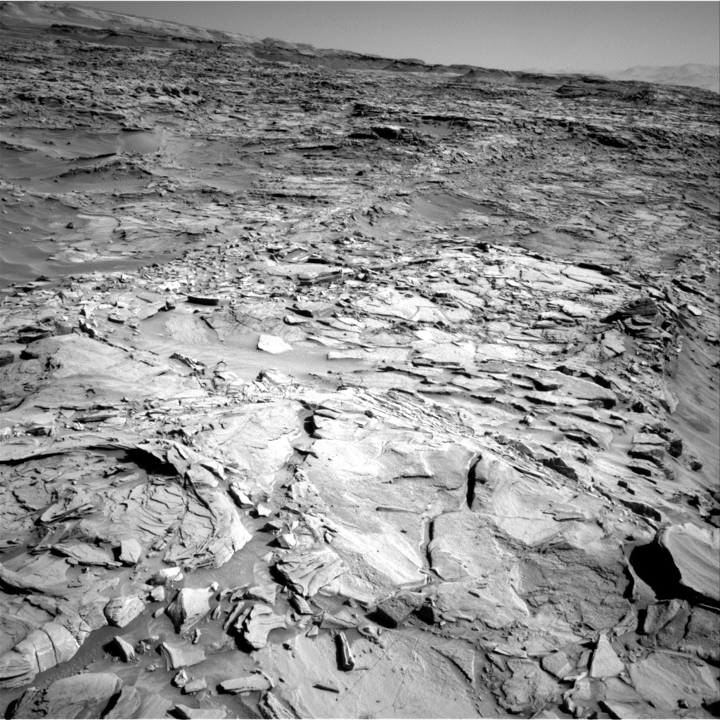 Nasa's Mars rover Curiosity acquired this image using its Right Navigation Camera on Sol 1294, at drive 2578, site number 53