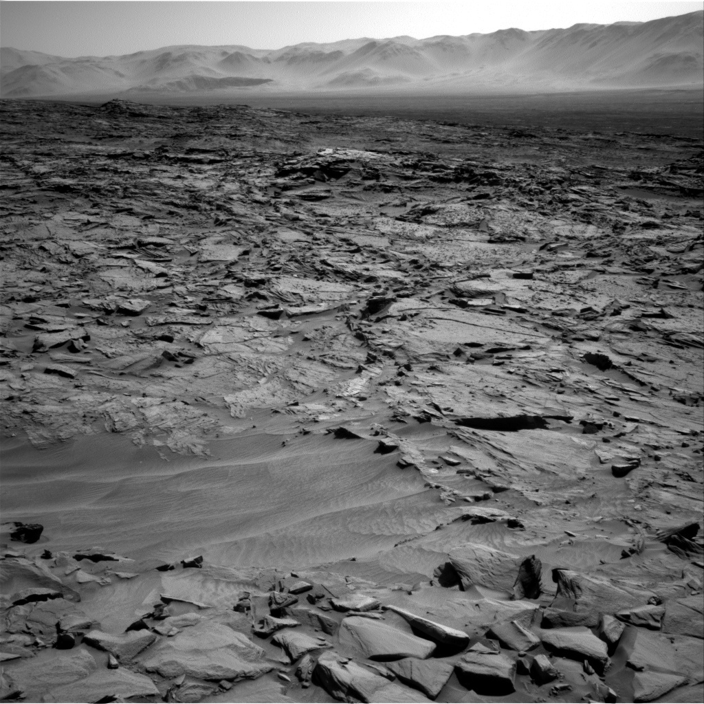 NASA's Mars rover Curiosity acquired this image using its Right Navigation Cameras (Navcams) on Sol 1294