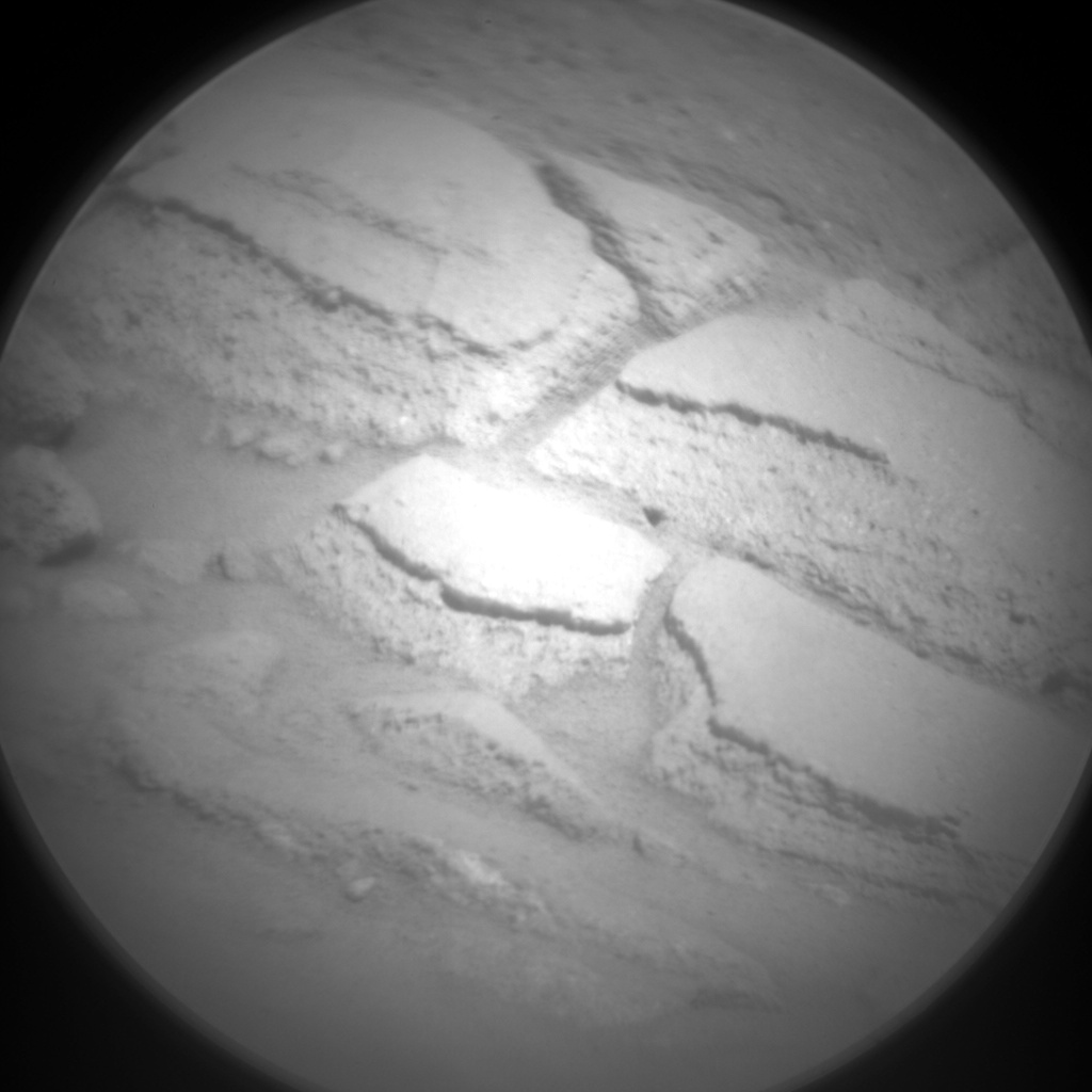 Nasa's Mars rover Curiosity acquired this image using its Chemistry & Camera (ChemCam) on Sol 1296, at drive 2578, site number 53