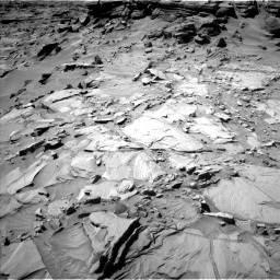 Nasa's Mars rover Curiosity acquired this image using its Left Navigation Camera on Sol 1296, at drive 2614, site number 53