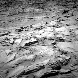 Nasa's Mars rover Curiosity acquired this image using its Right Navigation Camera on Sol 1296, at drive 2578, site number 53