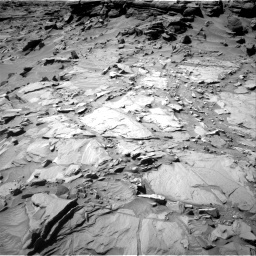 Nasa's Mars rover Curiosity acquired this image using its Right Navigation Camera on Sol 1296, at drive 2614, site number 53