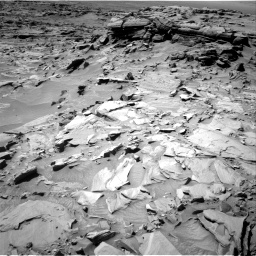 Nasa's Mars rover Curiosity acquired this image using its Right Navigation Camera on Sol 1296, at drive 2632, site number 53