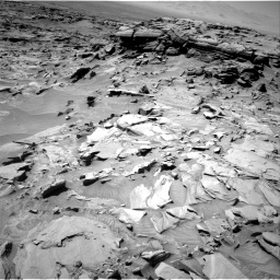 Nasa's Mars rover Curiosity acquired this image using its Right Navigation Camera on Sol 1296, at drive 2638, site number 53