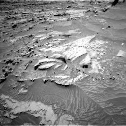 Nasa's Mars rover Curiosity acquired this image using its Left Navigation Camera on Sol 1298, at drive 2698, site number 53