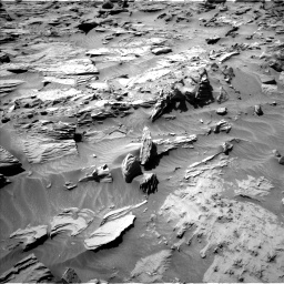 Nasa's Mars rover Curiosity acquired this image using its Left Navigation Camera on Sol 1298, at drive 2800, site number 53