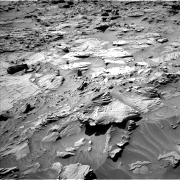 Nasa's Mars rover Curiosity acquired this image using its Left Navigation Camera on Sol 1298, at drive 2812, site number 53