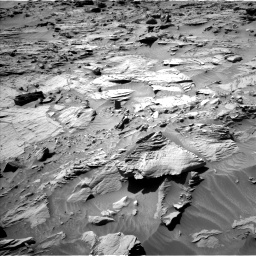 Nasa's Mars rover Curiosity acquired this image using its Left Navigation Camera on Sol 1298, at drive 2818, site number 53