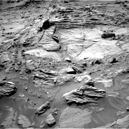 Nasa's Mars rover Curiosity acquired this image using its Left Navigation Camera on Sol 1298, at drive 2830, site number 53