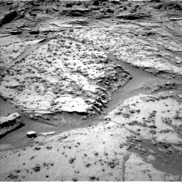 Nasa's Mars rover Curiosity acquired this image using its Left Navigation Camera on Sol 1298, at drive 2884, site number 53