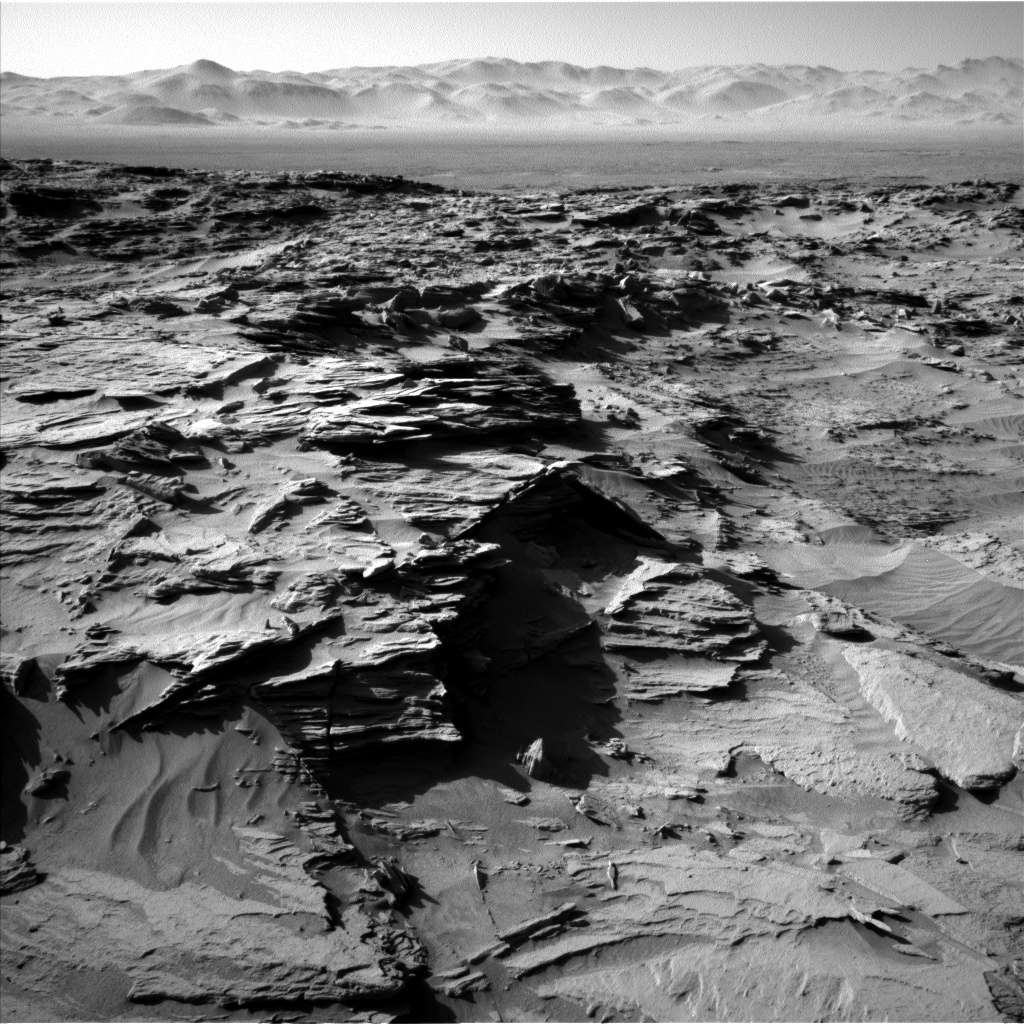 NASA's Mars rover Curiosity acquired this image using its Left Navigation Camera (Navcams) on Sol 1298