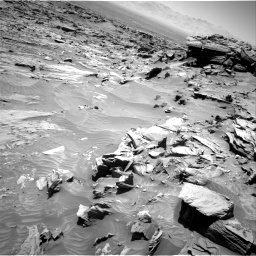 Nasa's Mars rover Curiosity acquired this image using its Right Navigation Camera on Sol 1298, at drive 2668, site number 53