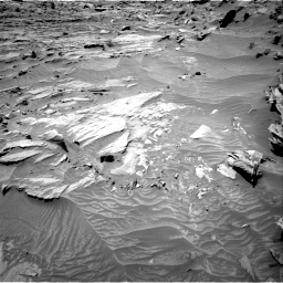 Nasa's Mars rover Curiosity acquired this image using its Right Navigation Camera on Sol 1298, at drive 2692, site number 53