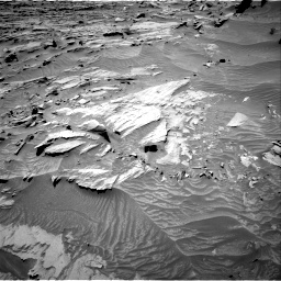Nasa's Mars rover Curiosity acquired this image using its Right Navigation Camera on Sol 1298, at drive 2698, site number 53