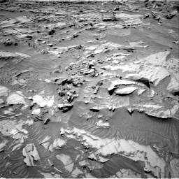 Nasa's Mars rover Curiosity acquired this image using its Right Navigation Camera on Sol 1298, at drive 2716, site number 53