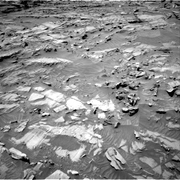 Nasa's Mars rover Curiosity acquired this image using its Right Navigation Camera on Sol 1298, at drive 2728, site number 53