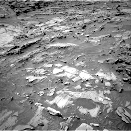 Nasa's Mars rover Curiosity acquired this image using its Right Navigation Camera on Sol 1298, at drive 2734, site number 53