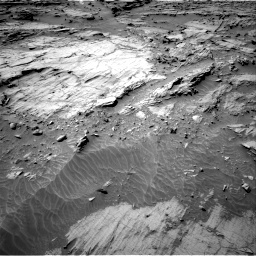 Nasa's Mars rover Curiosity acquired this image using its Right Navigation Camera on Sol 1298, at drive 2752, site number 53