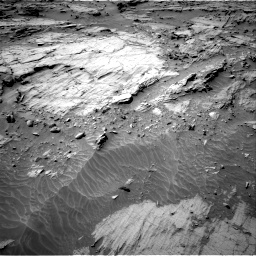Nasa's Mars rover Curiosity acquired this image using its Right Navigation Camera on Sol 1298, at drive 2758, site number 53