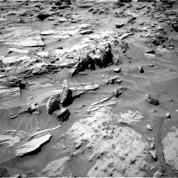 Nasa's Mars rover Curiosity acquired this image using its Right Navigation Camera on Sol 1298, at drive 2800, site number 53