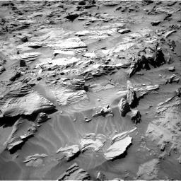 Nasa's Mars rover Curiosity acquired this image using its Right Navigation Camera on Sol 1298, at drive 2806, site number 53