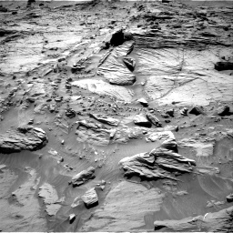 Nasa's Mars rover Curiosity acquired this image using its Right Navigation Camera on Sol 1298, at drive 2836, site number 53