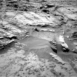 Nasa's Mars rover Curiosity acquired this image using its Right Navigation Camera on Sol 1298, at drive 2860, site number 53