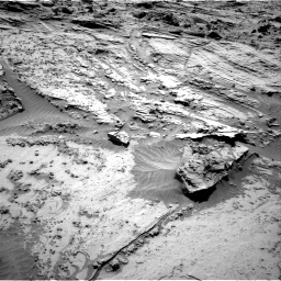 Nasa's Mars rover Curiosity acquired this image using its Right Navigation Camera on Sol 1298, at drive 2872, site number 53