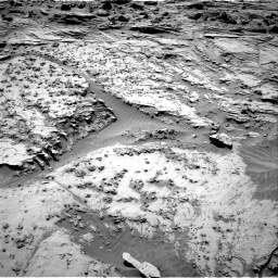 Nasa's Mars rover Curiosity acquired this image using its Right Navigation Camera on Sol 1298, at drive 2878, site number 53