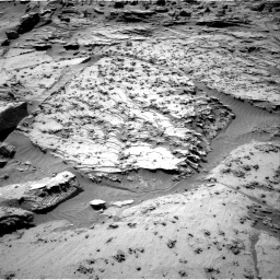 Nasa's Mars rover Curiosity acquired this image using its Right Navigation Camera on Sol 1298, at drive 2890, site number 53