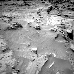 Nasa's Mars rover Curiosity acquired this image using its Right Navigation Camera on Sol 1298, at drive 2908, site number 53