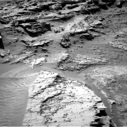 Nasa's Mars rover Curiosity acquired this image using its Right Navigation Camera on Sol 1298, at drive 2938, site number 53