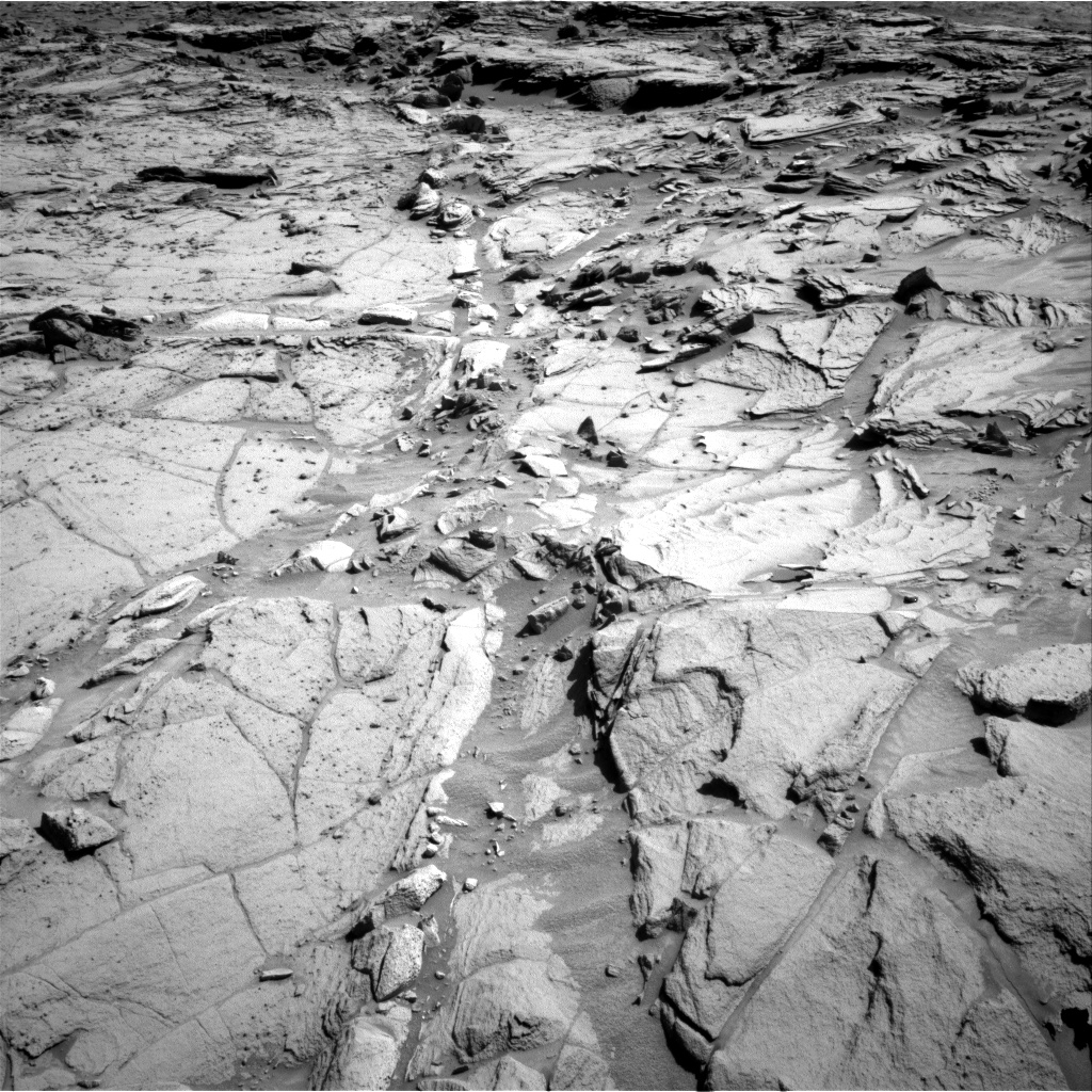 Nasa's Mars rover Curiosity acquired this image using its Right Navigation Camera on Sol 1298, at drive 2944, site number 53