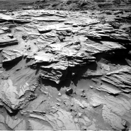 Nasa's Mars rover Curiosity acquired this image using its Right Navigation Camera on Sol 1298, at drive 2968, site number 53